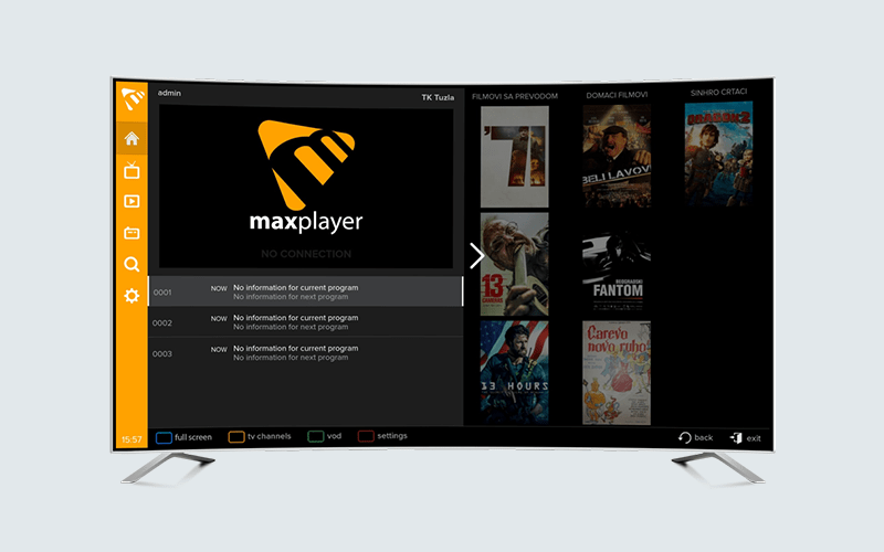Samsung Tizen Smart TV app
